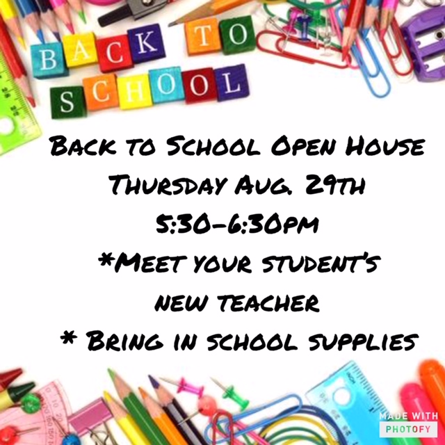 Taft El Open House